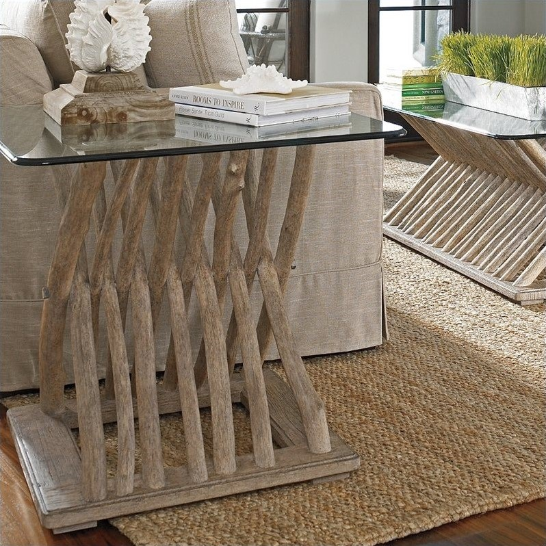 Stanley Coastal Living Resort Driftwood Flats End Table