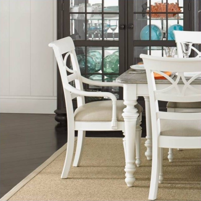 Stanley Coastal Living Retreat Sea Watch Arm Dining Chair
