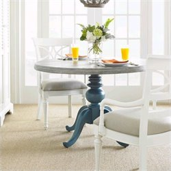 Coastal Living Retreat Round Pedestal Table Wood Top