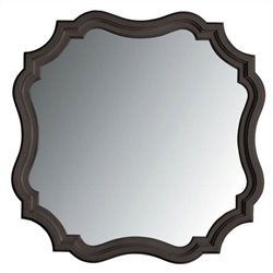 Coastal Living Retreat Piecrust Mirror