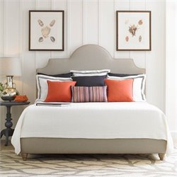 Coastal Living Retreat Upholstered Bed in Island Sand