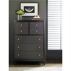 Stanley Furniture Wicker Park Drawer Chest in Brownstone