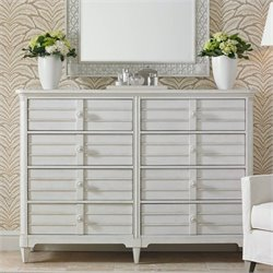 Stanley Furniture Cypress Grove Dresser in Parchment