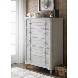 Stanley Furniture Cypress Grove Drawer Chest in Parchment