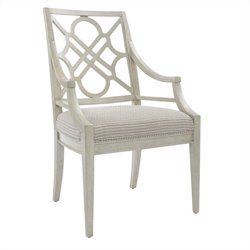 Stanley Furniture Fairlane  Arm Dining Chair in Luna