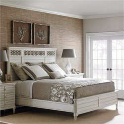 Cypress Grove Panel Bed in Parchment