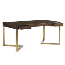 Stanley Furniture Crestaire Vincennes Writing Desk in Porter
