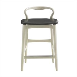 Stanley Furniture Crestaire Hooper Counter Stool in Capiz