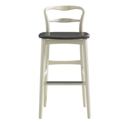 Stanley Furniture Crestaire Hooper Bar Stool in Capiz