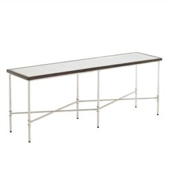 Stanley Furniture Crestaire Ventura Cocktail Table in Argent