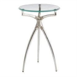 Stanley Furniture Crestaire Hovely Martini Table in Argent