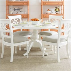 Stanley Furniture Coastal Living Retreat 5 Piece Dining Set in Saltbox White