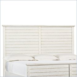 Stanley Furniture Coastal Living Resort Cape Comber King Platform Headboard in Sail Cloth