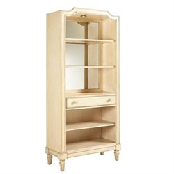 Stanley Furniture European Cottage Bookcase in Vintage White