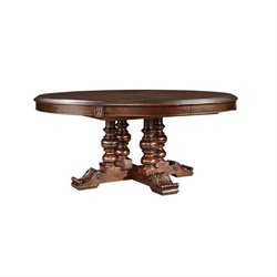 Stanley Furniture Casa D'Onore Round Dining Table in Sella