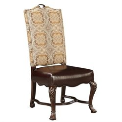 Stanley Furniture Casa D'Onore Upholstered Side Dining Chair in Sella
