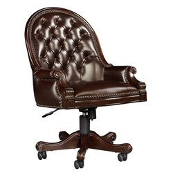 Stanley Furniture Casa D'Onore Executive Office Chair in Sella