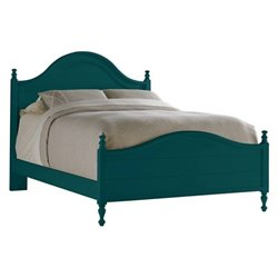 Coastal Living Retreat Bungalow Bed in Belize Teal
