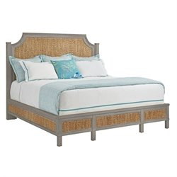 Coastal Living Resort Water Meadow Woven Bed - Morning Fog