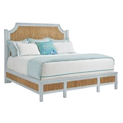 Coastal Living Resort Water Meadow Woven Bed  - Sea Salt