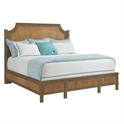 Coastal Living Resort Water Meadow Woven Bed - Deck