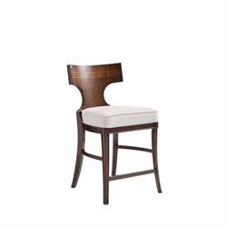 Stanley Villa Couture Dario Counter Stool in Mottled Walnut