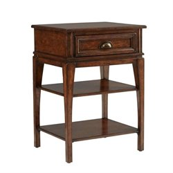 Stanley Furniture Tilden 1 Drawer Telephone Table in Hearth