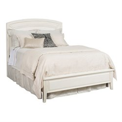 Siesta Sands Panel Bed in White Sands