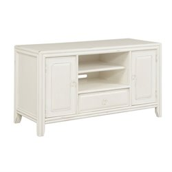 American Drew Siesta Sands TV Stand in White Sands