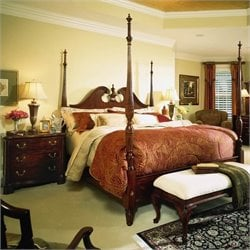 Cherry Grove Wood Poster Bed Bedroom Set