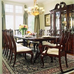 American Drew Cherry Grove Rectangular Casual Dining Set in Antique Cherry