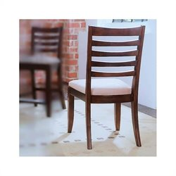 American Drew Tribecca Dining Chair in Dark Root Beer