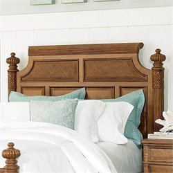 American Drew Grand Isle Island Panel Headboard in Maple