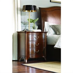 American Drew Cherry Grove Night Stand in Mid Tone Brown