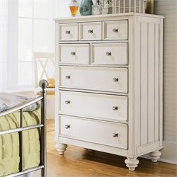 American Drew Camden 5 Drawer Chest in Buttermilk Finish