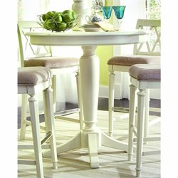 American Drew Camden Bar Height 5 Piece Set in Buttermilk