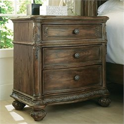 American Drew Jessica McClintock The Boutique 3 Drawer Nightstand