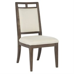 American Drew Park Studio Fabric Side Chair in Sunbrella