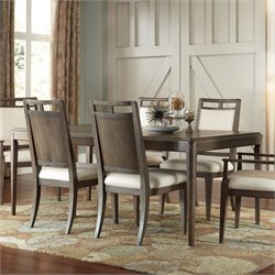 American Drew Park Studio Dining Table in Taupe