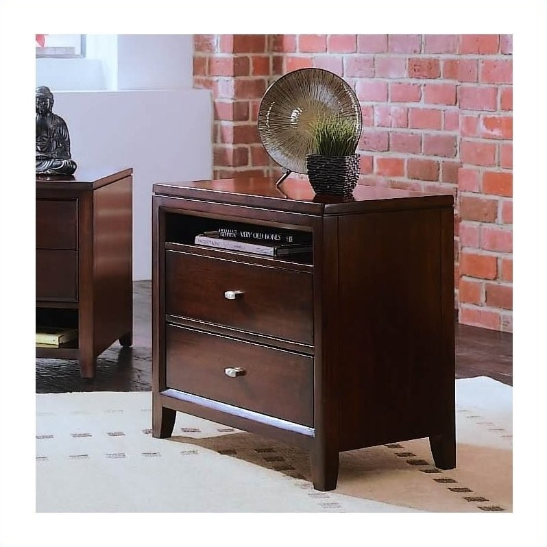 American Drew Tribecca Two Drawer Nightstand