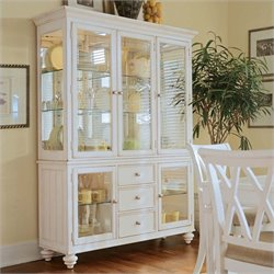 American Drew Camden China Cabinet in Buttermilk Finish