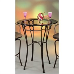 Pastel Furniture Napa Ridge Pub Table in Autumn Rust