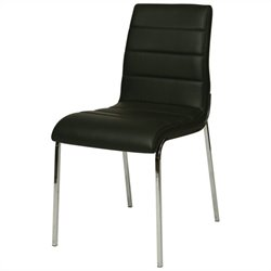 Pastel Furniture Fort James  Dining Chair in Black