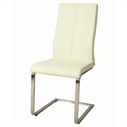 Pastel Furniture Olander  Dining Chair in Ivory