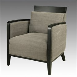 Pastel Furniture Elloise Club Chair in Gray