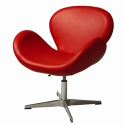 Pastel Furniture Le Parque Egg Chair in Red
