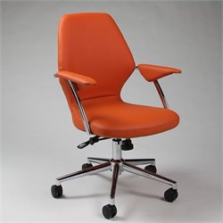 Pastel Furniture Ibanez Office Chair in Orange
