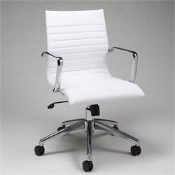 Pastel Furniture Janette Office Chair in Ivory