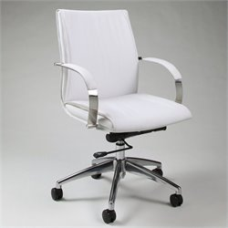 Pastel Furniture Josephina Office Chair in Ivory