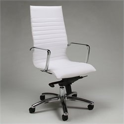 Pastel Furniture Kaffina Office Chair in Ivory